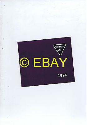 Catalogue Triumph 1996 gamme (France) (3864175)