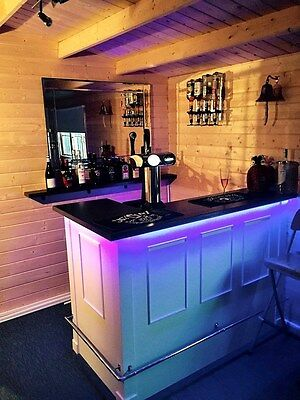 The Original Home Party Fun Bar Living Room Log Cabin Shed Man Cave / Beer Lager