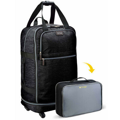 Biaggi Zipsak 27 Inch: Luggage that folds into a small suitcase when needed