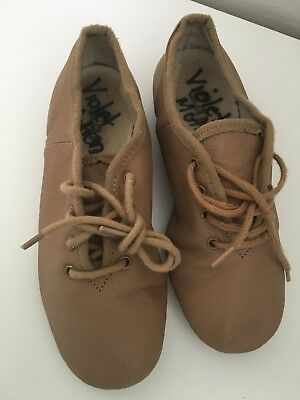 2x Jazz Shoes Size 12 Tan