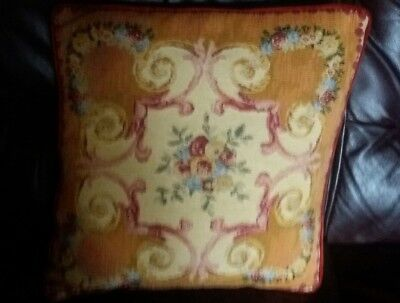 Beautiful Vintage Tapestry Cushion