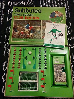 subbuteo table soccer club edition vintage