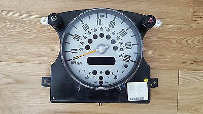 BMW Mini Cooper S Speedo Clock Instrument Cluster dash R50 R52 R53