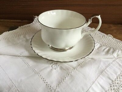 royal albert chantilly breakfast cup and saucer