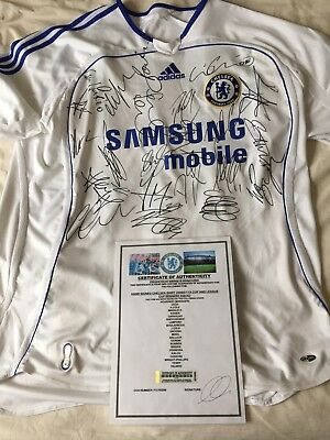 Chelsea Signed Shirt With COA