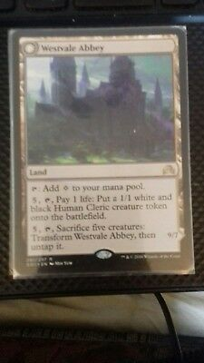 Westvale Abbey, Rare Land, Shadows over Innistrad, MTG