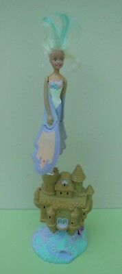 Vintage Sky Dancer Flying Ballerina Doll with Light up Castle Launcher LGTI 1994