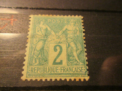 Timbre France Yt 62  Neuf X
