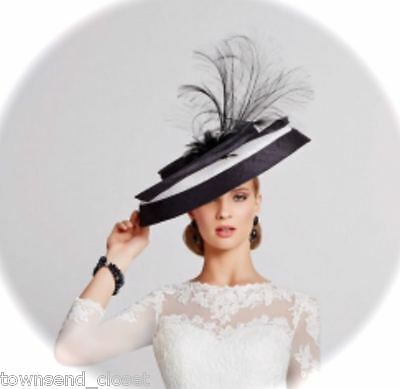 Mother of Bride Ascot Occasion Wedding Gwyther Snoxell Hatinator, Navy/Pink