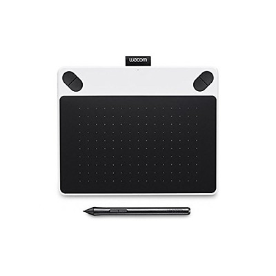 Wacom Intuos Draw Graphics Pen Tablet - Small, White