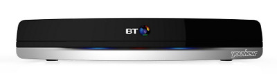 BT Youview+ Set Top Box with Twin HD Freeview and 7 Day Catch Up TV, No Subscrip