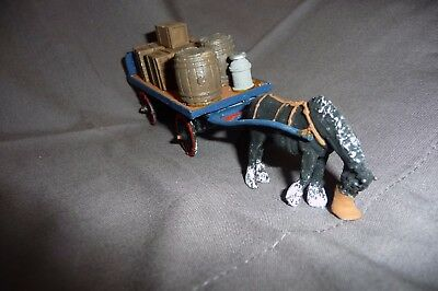 """Horse and cart in """"0"""" gauge"""