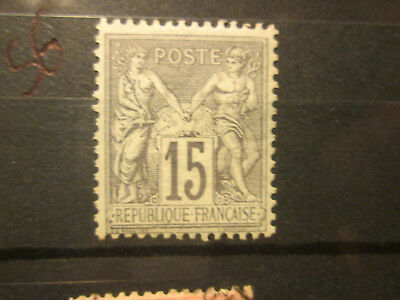 Timbre France Yt 77  Neuf Sg