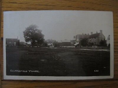 Old 1911 RPPC Chipperfield Village Herts