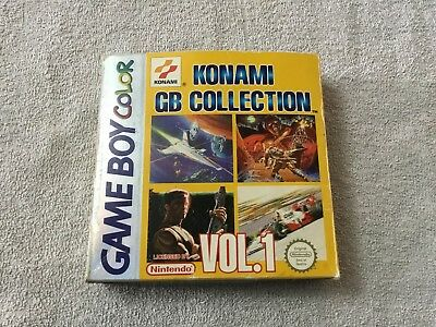 Konami GB Collection VOL.1 Nintendo Gameboy Color Empty Box & Inner Tray ONLY