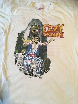 Ozzy Ozbourne - original 1986 the ultimate tour shirt