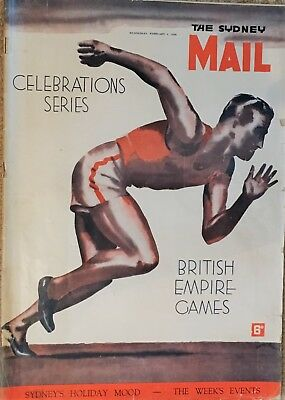 1937 British Empire Games. Sydney Mail Souvenir Magazine