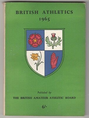 1965 BRITISH ATHLETICS by The National Union of Track Statisticians.
