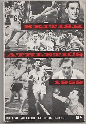 1959 BRITISH ATHLETICS by The National Union of Track Statisticians.