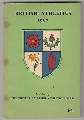 1960 BRITISH ATHLETICS by The National Union of Track Statisticians.