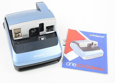 Polaroid One600 Classic Instant Film Camera Tested Working!