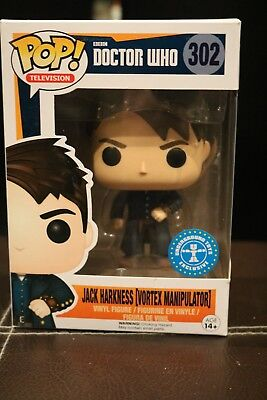 Doctor Who POP! Vinyl Captain Jack Harkness (Vortex Manipulator) Exclusive