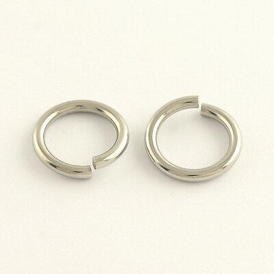 Ultra Thick Stainless Steel Jump Rings 10 mm x 1.4 mm | 0295
