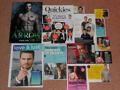 10+ STEPHEN AMELL Magazine Clippings