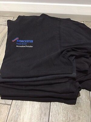 Bundle of Work T-Shirts XL Great new & used condition. Worcester Bosch