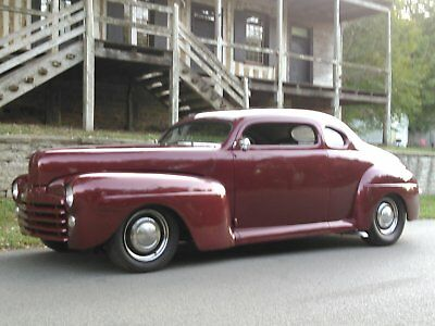 1947 Mercury Other super deluxe 1947 mercury coupe w/ ford grill chopped lowered street rod rat rod cruiser