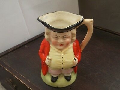 Toby Jug Of The ?judge  Wearing A Red Coat  No Maker  Foreign