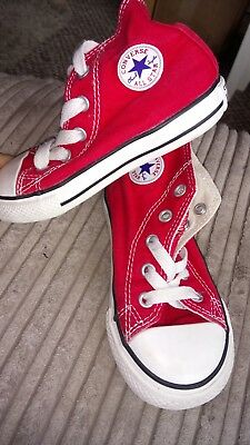 Converse trainers infant size 7