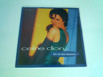 "Celine Dion ""love Can Move Mountains"" Maxi 12"" Vinyl G/ex Be/ex"