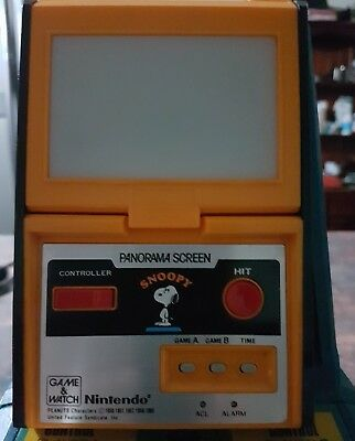 Nintendo game and watch Snoopy Panorama