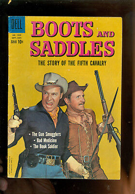 comic book-Boots & Saddles-Sept. 1959-Dell # 1029-Story of the 5th Calcary