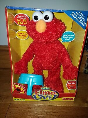 Elmo Live Interactive Talking Sesame Street Toy by Fisher Price⭐Boxed⭐