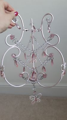 Next Childrens Lightshade Pink Butterfly