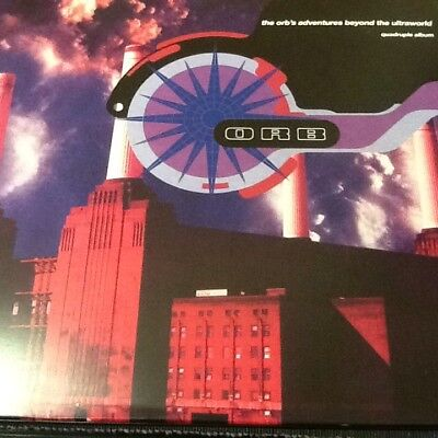 The Orbs Adventures Beyond The Ultraworld 4Xlp