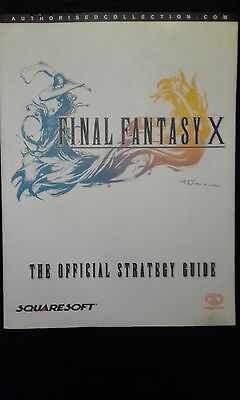 Guide officiel Final Fantasy X - PS2 - PS3 - Vita - Squaresoft 2002 - en Anglais