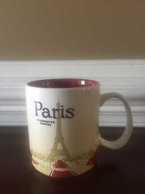 Starbucks Global Icon Series Paris 16oz Coffee Mug Cup Starbucks Icon Mug