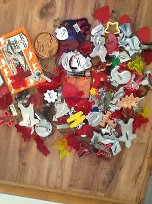 Over 175vintage Cookie Cutters Aluminum, Copper, Brass