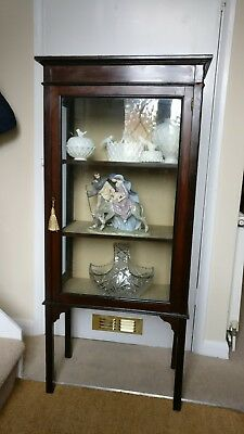 Antique Victorian Display Cabinet
