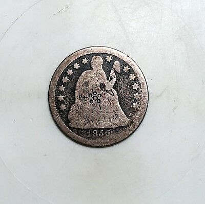 1856 Seated Liberty Dime - Silver - Seated - 10c - Old Tooling