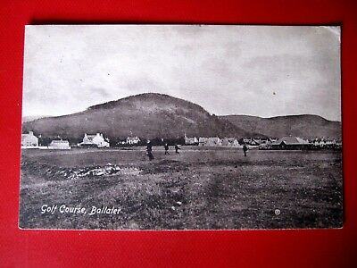 Nice Vintage Postcard-  The Golf Course, Ballater -Posted 1913