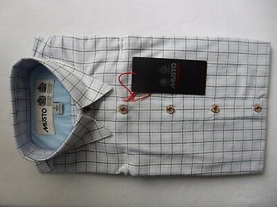Musto ladies Country shirt, green check, size 8