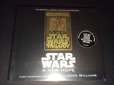 Vintage Star Wars A New Hope Cd Motion Picture Soundtrack John Williams new