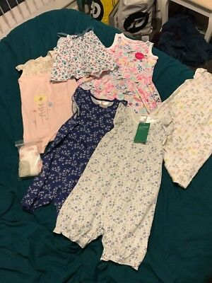 BNWT Baby Girls Clothes Bundle 12-18 Months Next H&M & More