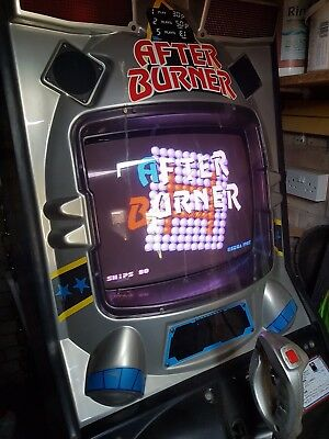 Sega Afterburner arcade game machine vintage antique