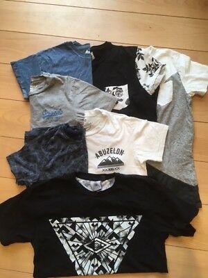Mens/ Youths 7 assorted t-shirts. Top Man. Asos. Jack & Jones. TXNMY