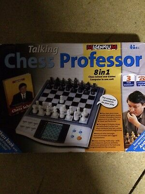 Talking Chess Professor 8 In 1 Chess School & Games Computer In One Unit